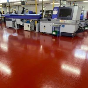 anti slip epoxy resin flooring